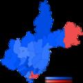 First round of 2015 Irkutsk Oblast gubernatorial election map.png