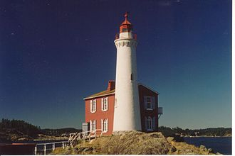 Fisgard Lighthouse National Historic Site - A National Historic site, Fisgard Lighthouse, Vancouver Island, BC