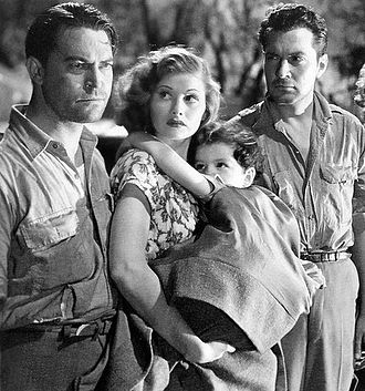 Five Came Back - Chester Morris, Lucille Ball, Casey Johnson and Kent Taylor in Five Came Back
