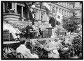 Flag Day. Flag Day exercises, State, War, and Navy Building. Wilson speaking; Bryan, Daniels, (Breckinridge Long), William Phillips, F.D. Roosevelt, etc. present LCCN2016865645.tif