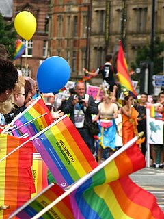 Manchester Pride Annual LGBT event in Manchester, England