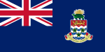 Flagge der Cayman Islands