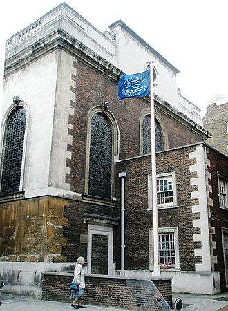 St Michael Paternoster Royal -  Seamen's Church
