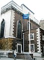 "Flagpole outside ""The Seaman's Church"" - geograph.org.uk - 923983.jpg"
