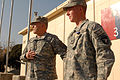 Flickr - The U.S. Army - GEN Casey with Spc. Nicholas Robinson.jpg