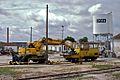 Flickr - nmorao - Dresine e Escavadora, Estação de Évora, 2008.05.22.jpg