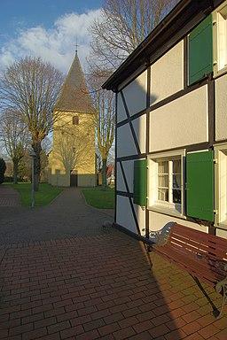 Kirchplatz in Bönen