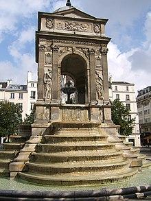 Фонтан Невиновных был придуман выдающимся французским деятелем эпохи Возрождения Пьером Леско и воплощён в камне Жаном Гужоном. Парижский Фонтан Невиновных.