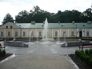 Końskie - Part of the former palace in Końskie