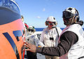 Football player visits USS George H.W. Bush DVIDS349712.jpg