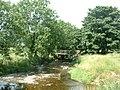 Footbridge, Hoff Beck at Hoff, near Appleby - geograph.org.uk - 30101.jpg