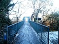 Footbridge across the River Taff, Radyr, Cardiff - geograph.org.uk - 2204837.jpg