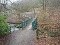 Footbridge over Jumbles outflow - geograph.org.uk - 127032.jpg