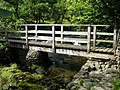 Footbridge over a Beck near Sunny Bank - geograph.org.uk - 1441790.jpg