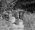 Footbridge over abandoned canal loop, Newbold - geograph.org.uk - 556920.jpg