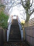 Footbridge over the railway - geograph.org.uk - 2180646.jpg