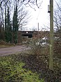 Footpath and access road goes under railway - geograph.org.uk - 1121920.jpg