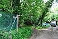 Footpath junction near Barns Green - geograph.org.uk - 1293472.jpg
