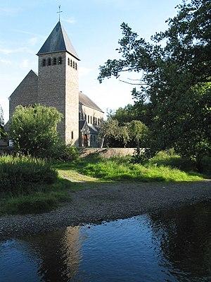 Lomme (river) - Image: Forrières JPG05