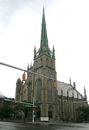 M-85 (Michigan highway) - Fort Street Presbyterian Church