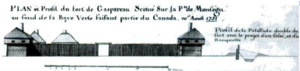 Fort Gaspareaux - Fort Gaspereaux, 1751