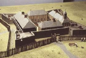 Le Fort Louis de la Mobile en 1702