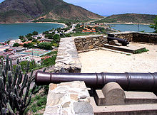 Cannons forged in 1667 AD at the Fortín de La Galera, Nueva Esparta, Venezuela.