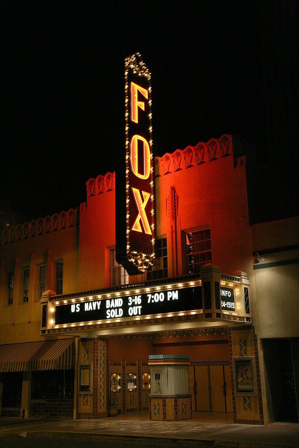 Fox theater Tucson