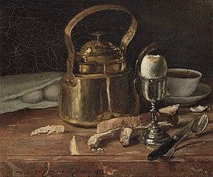François Bonvin - Still Life, 1883, Museum Boijmans Van Beuningen