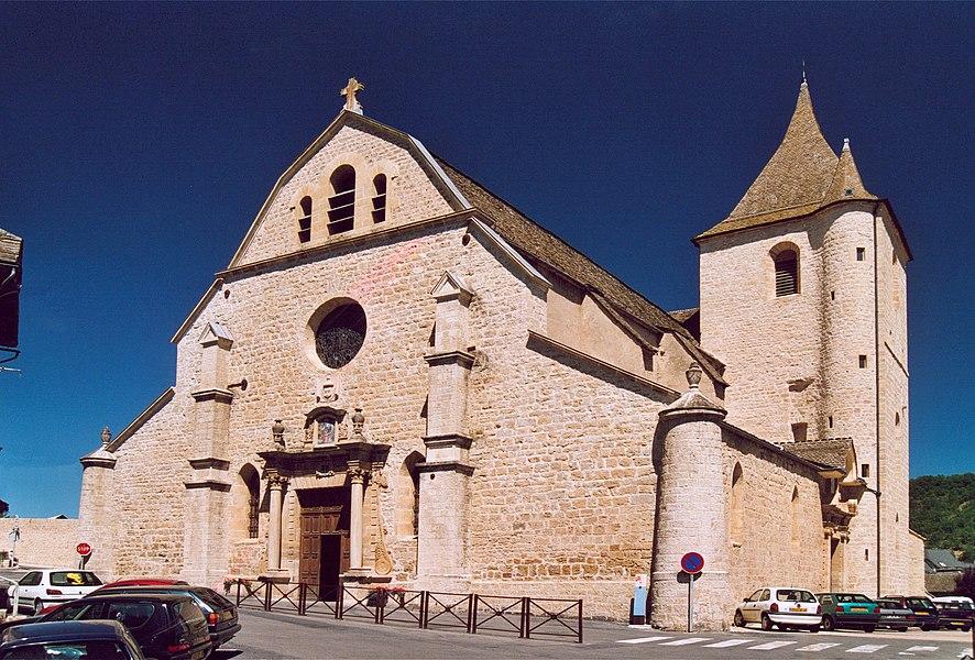 France Lozère Marvejols L'église Notre Dame de la Carce