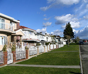 North Burnaby - A typical North Burnaby streetscape