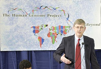 History of genetics - Francis Collins announces the successful completion of the Human Genome Project in 2003