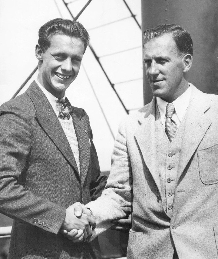 Frank Kurtz and Clyde Swendsen 1931