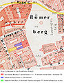 Frankfurt Altstadt-Position-Lichtenstein-Ravenstein1861.jpg