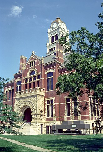 Franklin County, Iowa - Image: Franklin County Courthouse, Hampton