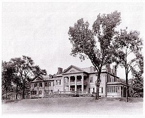 "Elbridge G. Spaulding - The Spaulding-Sidway home built on ""River Lawn"" in Grand Island"