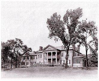 "Elbridge G. Spaulding - The Spaulding-Sidway home built on ""River Lawn"" in Grand Island"
