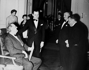 David Dubinsky - Dubinsky with Franklin D. Roosevelt