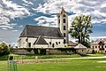 Frauenstein Obermühlbach 70 Pfarrkirche hl Georg NNO-Ansicht 21082017 0435.jpg