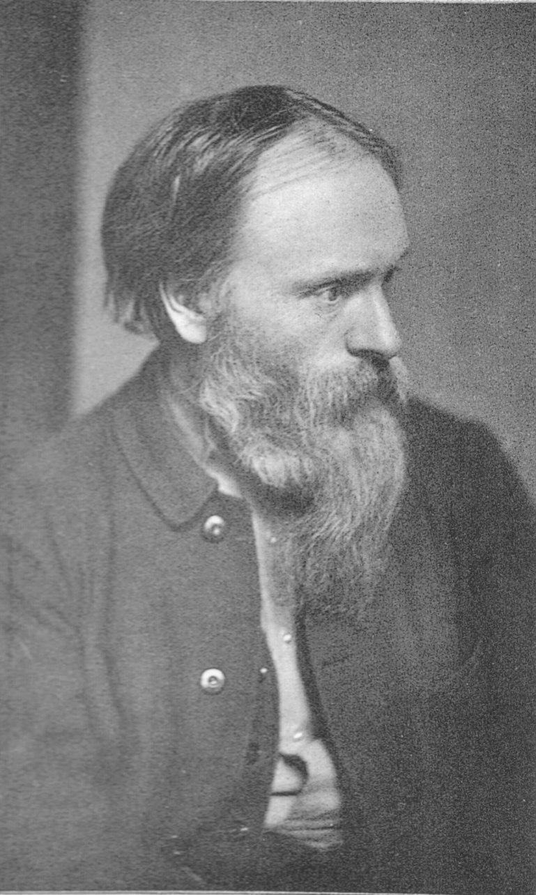 Frederick Hollyer portrait of Edward Burne-Jones c1882