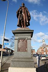 Statue of Honourable Frederick James Tollemache Member of Parliament
