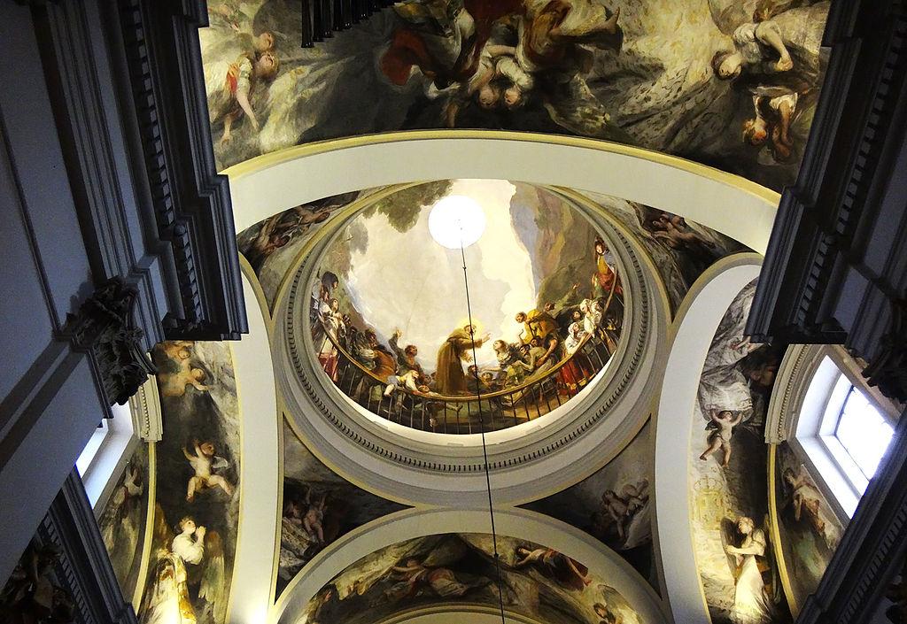 Los frescos de Goya en la Ermita de San Antonio de la Florida de Madrid