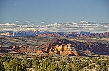 From Cottonwood Cove looking north past the teepees, in Coyote Buttes South, Arizona.jpg
