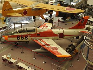 Fuji T-1 - Fuji T-1 (25-5856) at Tokorozawa Aviation Museum