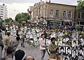Funeral of the Dead Basijis in Iran-Iraq war, Tabriz - 1984.jpg