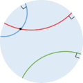 Géométrie non euclidienne, Approche intuitive.png