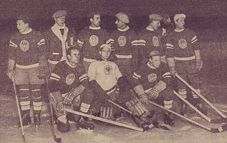 1931 World Ice Hockey Championships - The Austrian national team in 1931.