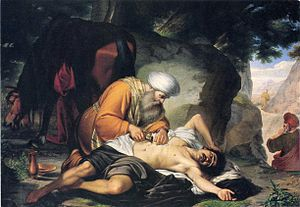 Compassion - Compassion in action: an 18th-century Italian depiction of the Parable of the Good Samaritan