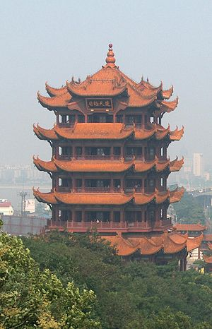 Yellow Crane Tower - The modern Yellow Crane Tower built in 1985