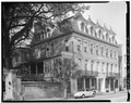 GENERAL VIEW, FROM SOUTHWEST - Carolina Hotel, 60-64 Broad Street, Charleston, Charleston County, SC HABS SC,10-CHAR,35-2.tif